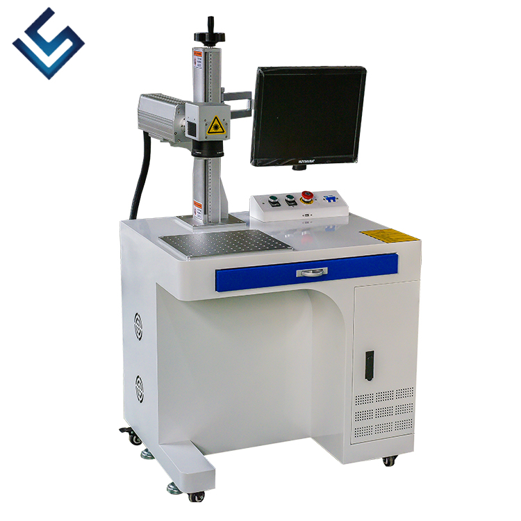 Printer For Pipe Marking Machine  Laser Marking Machine For Plastic Bottle And UV PCB