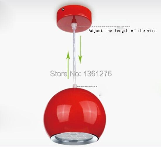 ФОТО Pendant lights High power led spot pendant lamp abajur 12W white, warm white led lustres pendant light