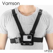 Vamson ل Gopro اكسسوارات الصدر حزام حزام الجسم ترايبود تسخير جبل ل Eken ل Gopro بطل 9 8 7 5 6 4 ل Yi 4K VP203
