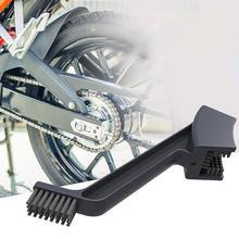 1 pz ABS Moto Catena Spazzola Rapido Lavatrice Catena di Montaggio Catena di Progettazione Due Tipo di Testa della Spazzola Strumento di Pulizia