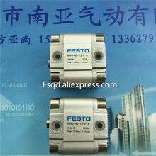ADVU-40-20-P-A ADVU-40-25-P-A ADVU-40-30-P-A festo компактный баллоны пневматический цилиндр advu серии