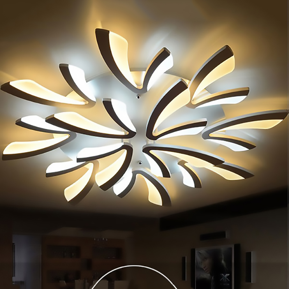 Pendant Acrylic thick Modern led ceiling chandelier lights for living room bedroom dining room home Chandelier lamp fixture resin aircraft baby room wood chandelier led acrylic 3 head pendant lamp modern chandelier led children s kids bedroom loft