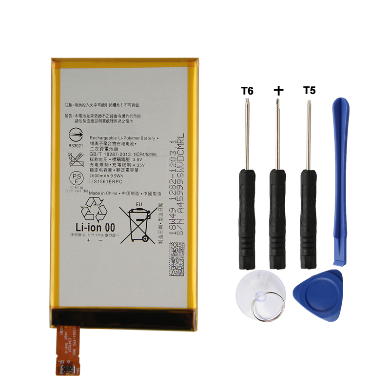 Original Replacement Battery LIS1561ERPC For Sony Xperia Z3 mini Z3 Compact C4 E5333 M55W D5833 SO