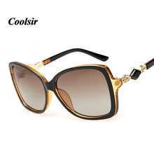 COOLSIR Hot 2017 Classic Style Brand Design Women's Elegant Sunglasses High Quality Cat Eye Polarized Sunglasses 5 Colors P8001