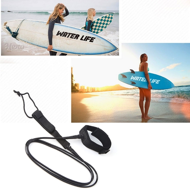 TPU Surfing Surfboard Leash Super Strong Paddle Board Foot Cord String Leg Rope 2