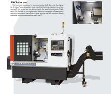 TCK6350 CNC 45 Degrees Slant Bed metal lathe machine with FANUC OI IF