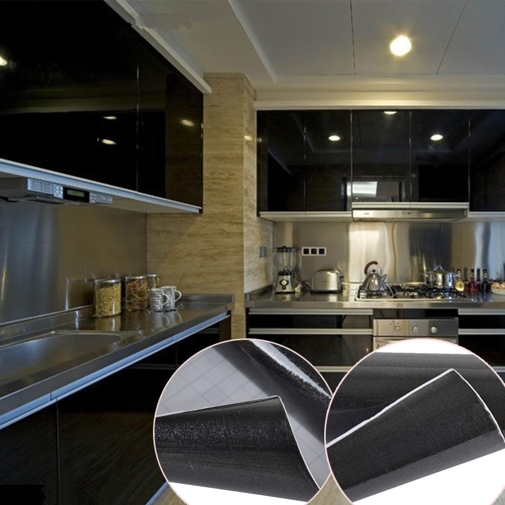 610 x 5 24 gloss self adhesive kitchen cupboard door drawer