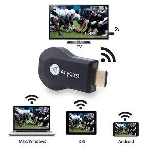 Image 1 - HDMI Full HD1080P Miracast DLNA Airplay M2 Anycast TV Stick bezprzewodowy odbiornik i odtwarzacz plików multimedialnych obsługa klucza sprzętowego systemu Windows z systemem android TVSE3
