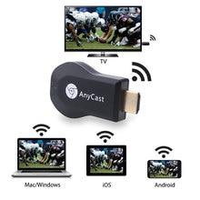 HDMI كامل HD1080P ميراكاست DLNA Airplay M2 Anycast جهاز استقبال للتليفزيون مستقبل عرض لاسلكي دونغل دعم ويندوز Andriod TVSE3