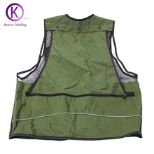 Fishing Vest Quality Outdoor Vest Fishing Clothes / Jackets Camera Waistcoat Mulit-pocket Clothes outside Hiking Vests