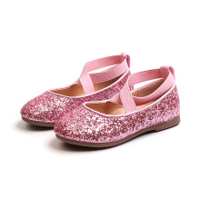 Spring Autumn Little baby girl Casual shoes Childrens Sequins Girl Princess dancing Kids soft-soled Shoes