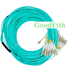 Fiber Patch Cord Jumper LC-LC Multimode OM3 Trunk Breakout 2.0mm 12 Cores GoodFtth 3-25m все цены