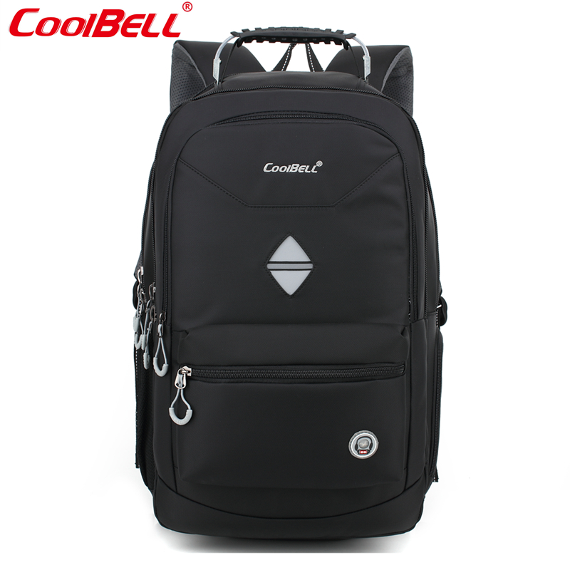 Cool Bell large capacity 18.4 inch laptop Backpack for Business Bag for 10-17.6 inch Laptop Notebook Shockproof Waterproof lowepro protactic 450 aw backpack rain professional slr for two cameras bag shoulder camera bag dslr 15 inch laptop