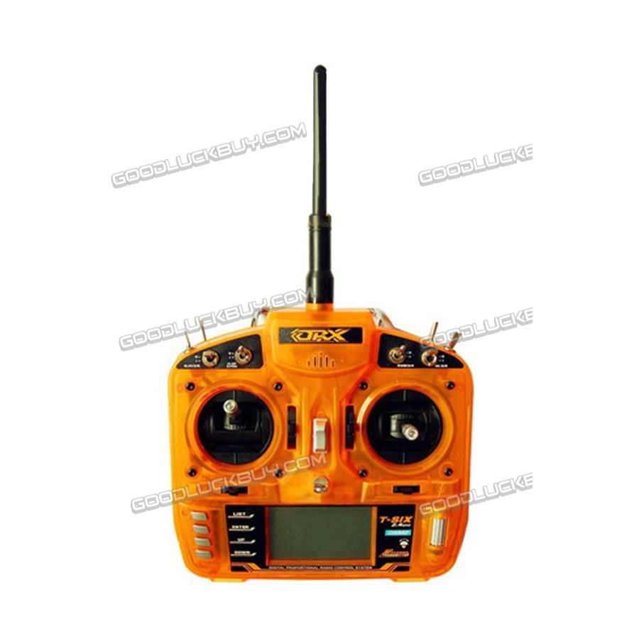 FsFly T-six 2.4GHz 6CH DSM2 Compatible Transmitter+ Redcon CM703 DSM2 Receiver mkron i6s 2 4g 6ch dsm2 compatible transmitter with 3 way switch