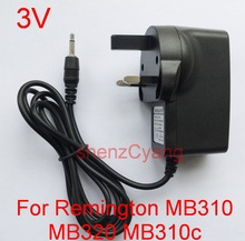 1 шт., Сменное зарядное устройство 3 в, Высококачественная Программа ИС, преобразователь переменного тока 100 240 В, адаптер питания для Ремингтона MB310 MB320 MB310c MB320c