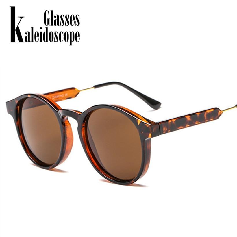 Caleidoscópio Óculos Retro Rodada óculos de Sol Das Mulheres Dos Homens  Unisex Projeto Do Vintage Pequenos 2f0412227b