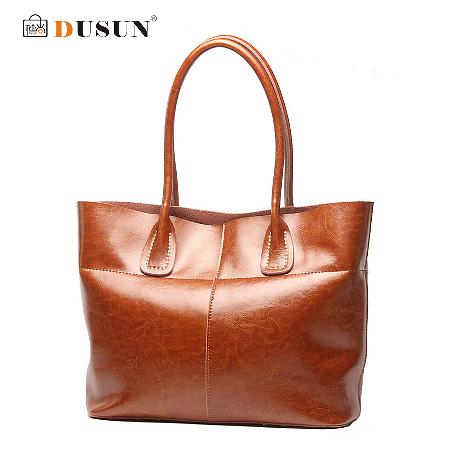 DUSUN Brand New Vintage Women Bags High Quality Leather Handbags Women Messenger