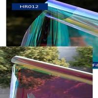 HOHOFILM 2Colors 1.37x6m Rainbow Iridescent window film,Decorative Rainbow Effect Window Sticker Solar Tint Decoration