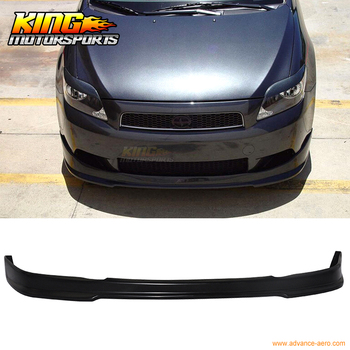 Fit For 2005-2010 Scion tC RS Style Front Bumper Lip Chin Spoiler Polyurethane