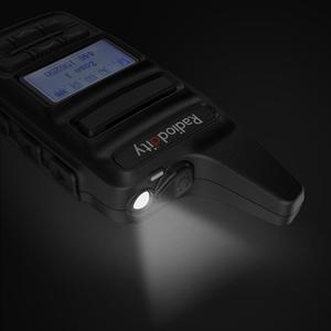 Image 5 - Radiodity GD 73 a/e mini dmr uhf/pmr ip54 usb programa & carga 2600 mah sms hotspot uso 2 w 0.5 w personalizado chave rádio em dois sentidos