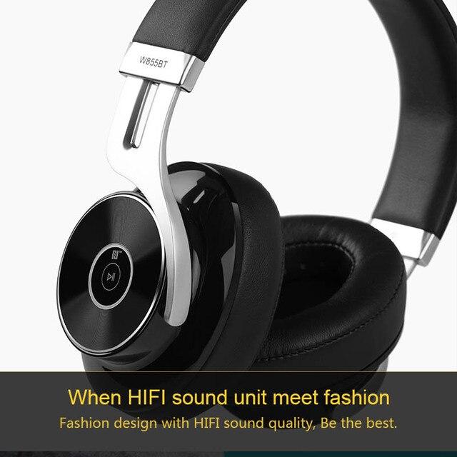 Bluetooth Headphones HIFI Over-Ear Noise Isolation Bluetooth 4.1 Headphone With Microphone Support
