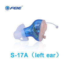 ear equipment device CIC mini invisible digital hearing aid 8 channels S-17A Free Shipping