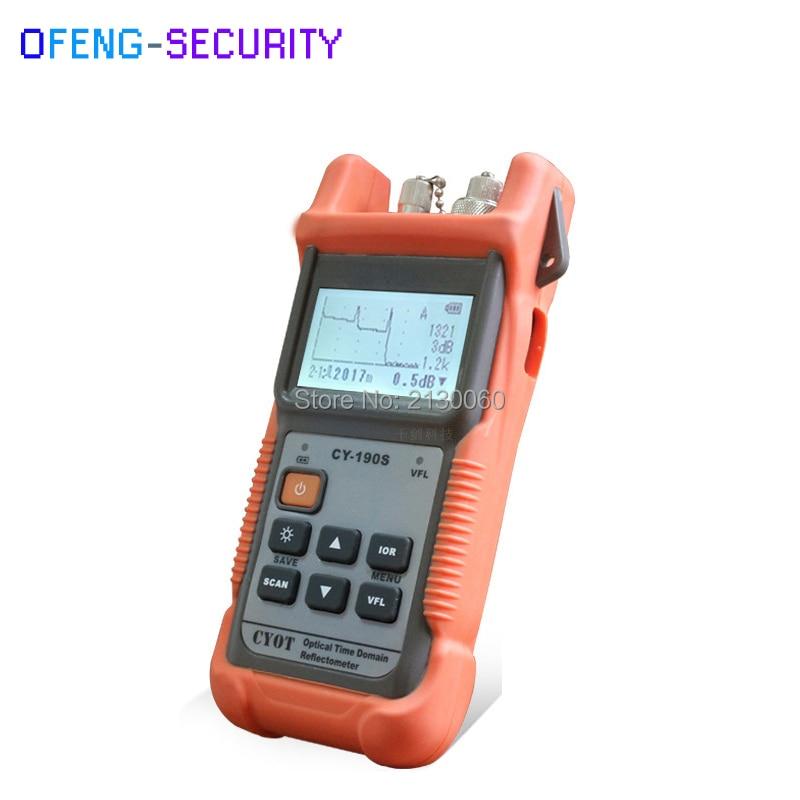 Optical Fiber Ranger MINI OTDR CY190S CY-190S Handheld OTDR 60KM Fiber Find Fault Tester 1310nm+1mW VFL