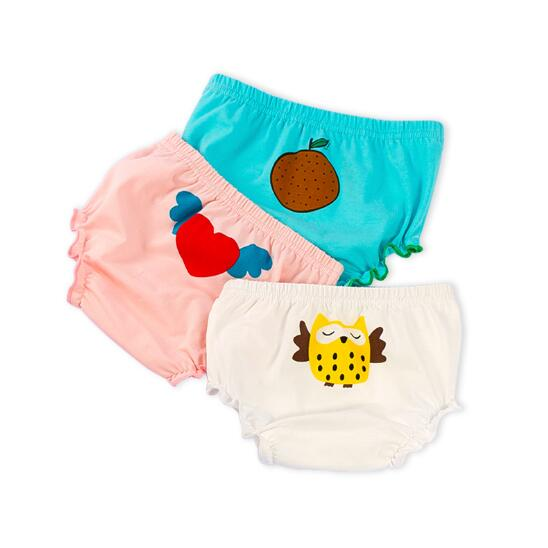 New Material Kids Candy Boxer baby's Clothing Girls Cotton Girls Underwear for Baby beautiful Breathable Panties