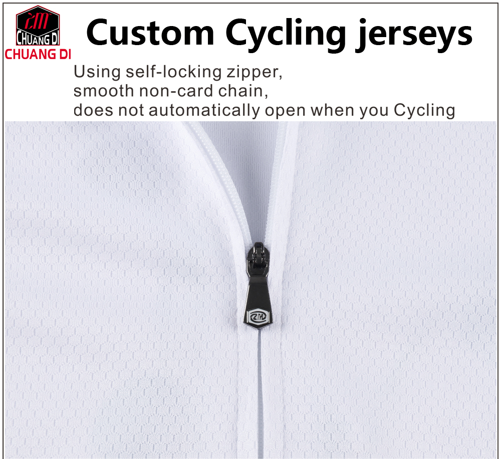 chuang di Accept custom design cycling jersey 2019 pro team design cycling  shirt 2019 custom cycling jersey  5 Pieces-in Cycling Jerseys from Sports  ... 10c5b9375