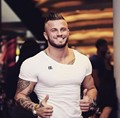 Fashion Fit T-shirts Bodybuilding and Fitness T Shirts Golds shark Gyms clothing cotton Mens Short Sleeve tshirt Workout Tees