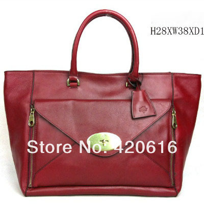 Ems Free Shipping Classic Women Genuine Leather Handbags Tree Logo