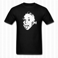 Albert Einstein Physicist Legend Psychedelic T Shirt Men Women Hip Hop Brand Clothing Cotton O Neck