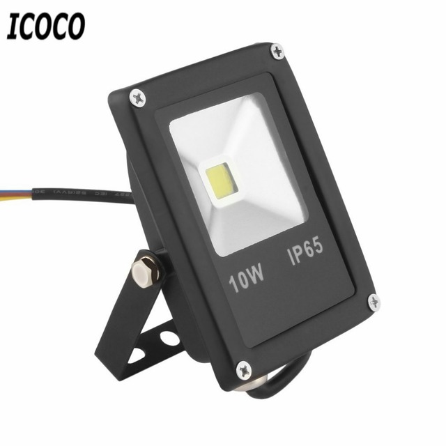 Icoco ac85 265v 10w waterproof led floodlights wash wall flood light icoco ac85 265v 10w waterproof led floodlights wash wall flood light spotlight garden outdoor lighting aloadofball Image collections
