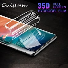 35D Full Soft Screen Protector on the For Samsung Galaxy M 20 30 J 3 5 A 10 40 50 60 70 80 90 2019 Hydrogel Film Not Glass
