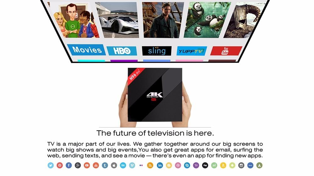 Wechip H96 PRO Plus Android 7.1 Smart TV Box Wechip H96 PRO Plus Android 7.1 Smart TV Box HTB1Tv iadzJ8KJjSspkq6zF7VXaZ