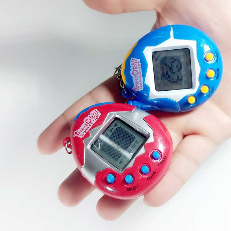ร้อน! สัตว์เลี้ยงอิเล็กทรอนิกส์ของเล่น 90 S Nostalgic 49 สัตว์เลี้ยงในหนึ่งเสมือน Cyber Pet Toy Funny Tamagotchi