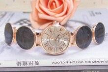Wholesale Trend Rose Gold Tone Watch Ladies Girls Crystal Costume Quartz Wristwatches Relogios Feminino TW031