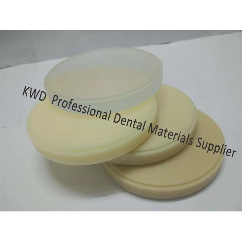 Güzellik ve Sağlık'ten Diş Beyazlatma'de 5 adet/grup Diş PMMA Blokları Wieland Sistemi OD98mm * 18mm Açık A1, A2, A3, renkli Cad/CamDental Döküm Pmma'da  Grup 1