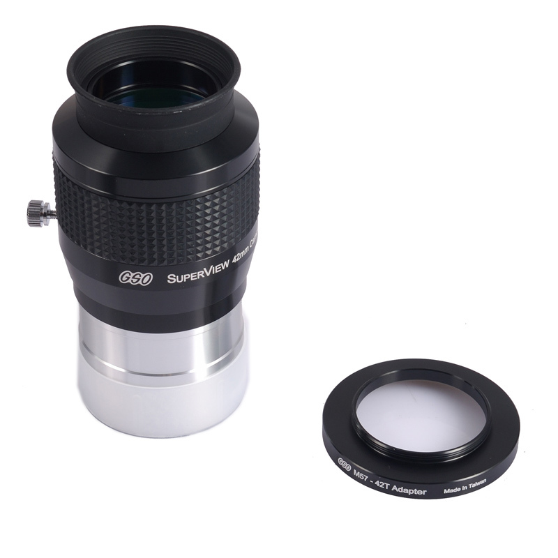 GSO 2Superview 42MM Wide Field 68 -degree  eyepiece ,include a 57-42 adapterGSO 2Superview 42MM Wide Field 68 -degree  eyepiece ,include a 57-42 adapter