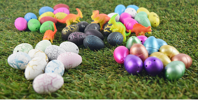 600pcs lot Magic Growing Dino Eggs Hatching Dinosaur Add Water Child Inflatable Kid Toy