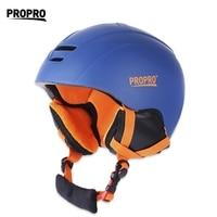 Skiing Helmet Windproof All In One Skiing Helmet With Inner Adjustable Buckle Liner Cushion Layer 2016