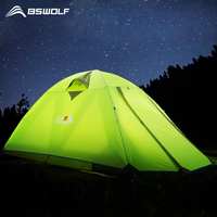 New Arrivals 2 Person Portable Tents Outdoor Camping Hiking Tents 190T Double Layer Waterproof Ultralight Tourist Tent