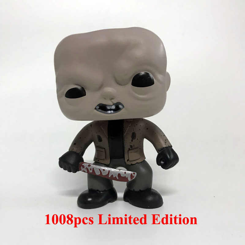 202 Filmes de Jason Voorhees Friday The 13th Vinyl Figura 2015 Exclusive 1008 pcs Edição Limitada Internacional Modelo Boneca de Brinquedo
