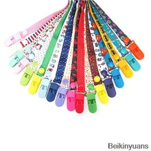 Baby pacifier clip handmade textile production holder baby nipple toy chain clip pacifier newborn pacifier bottle anti chain-in Pacifier