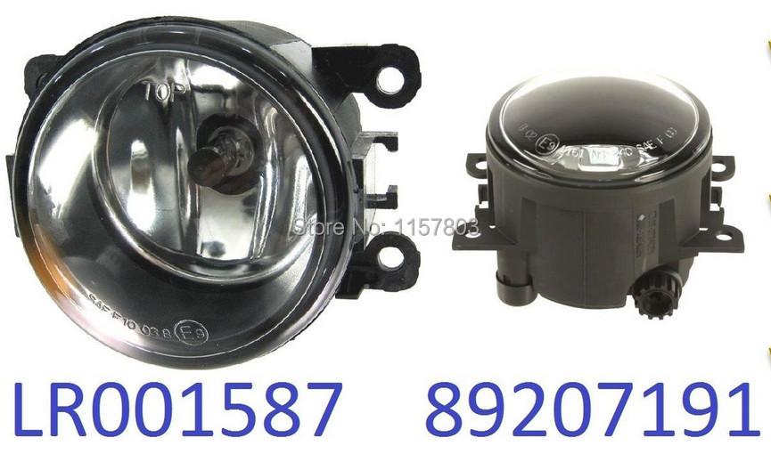 ФОТО For land rover Range Rover 4   2008  car Fog LIGHT Lights   1 SET  LR001587  89207191 FOG LAMPS
