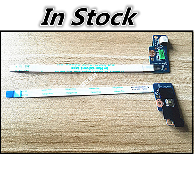 Brand New Power Button Board Cable Switch Cable Flex Cable Switch button cable Board For HP 15-G 15-R 250 256 G3 G4 G5 LS-A991P new for hp 15 r j g m6 k n dc jack dc in cable 90w 8pin 719318 yd9 p n cbl00380 0200