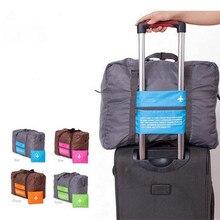 48e175c02 Travel Luggage Bag Big Size Folding Carry-on Duffle bag Foldable Travel Bag  Green Blue
