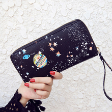 Space Wristlet Phone Purses