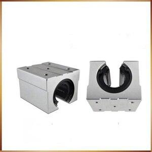 Image 4 - sbr16 free shipping SBR16 SBR16UU 16mm Linear Ball Bearing Block CNC Router