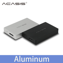Acasis USB 3.0 mSATA External Hard Disk Drive HDD Enclosure Case Box SSD Aluminum 1153E Chip 5Gbps 1.8 inch